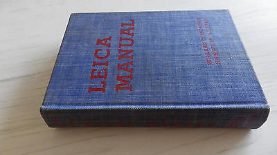 Leica Manual By Morgan& Lester  Published 1954 In VGC Cloth Bound