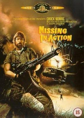 MISSING IN ACTION - Chuck Norris - DVD Region 4 - M-rated HTF