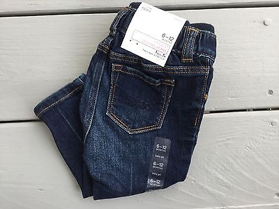 NWT BABY GAP Baby Girls Pull-On Leggings Jeans Size 6-12 Months