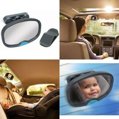 Deluxe Baby Mirror In Car Safety Child Monitoring Back Seat Rear View Adjustable