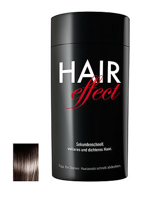 Hair Effect Streuhaare Microfaser 26 g Schütthaar € 82,70/100g #0 dark brown