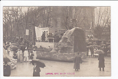 Carte photo - Carnaval XXVII - AIX EN PROVENCE (1920. voir scans)