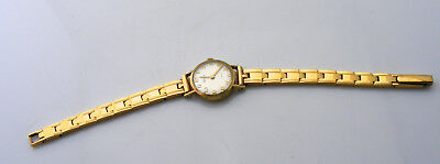 Ladies Vintage 18K Yellow Gold Rare WEGA Bracelet Watch ca. 1930s Hand Crafted