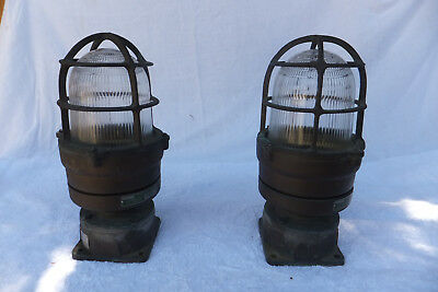 RUSSELL & STOLL Solid Brass Nautical Lights