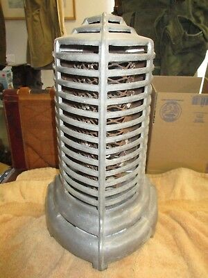 Great Art deco streamlined heater Aluminum Murphy Appliance Mfg Co Los Angeles
