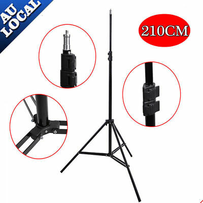 2.1M Photo Studio Light Stand Tripod Lighting Kit For Umbrella Flash Lighting