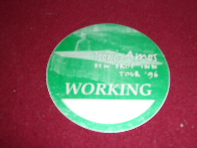 Tori Amos backstage pass for Dew Drop Inn tour 1996 - unused / undated