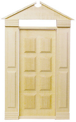 Dollhouse Houseworks 1/2 inch scale Americana Door HWH6004
