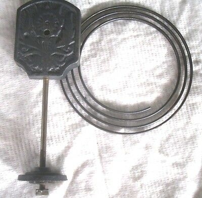 Vintage THOMAS HELLA Mantle Clock:VERTICAL STRIKING CHIME GONG,Spare Part.V.G.C.