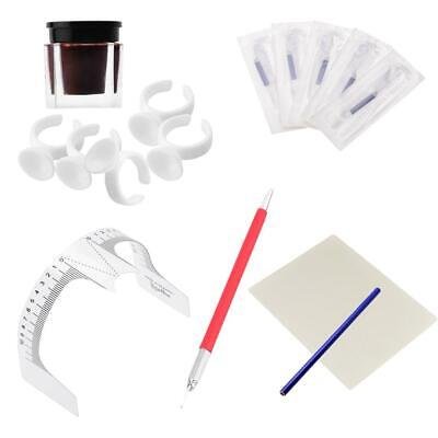 Kit Complet de Tatouage à Sourcils Microblade Tattoo Outil Maquillage Permanent