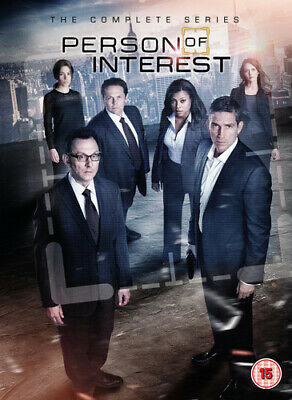 Person of Interest: The Complete Series DVD (2017) Jim Caviezel ***NEW***