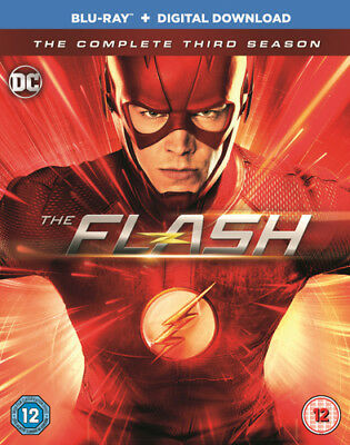The Flash: The Complete Third Season Blu-Ray (2017) Grant Gustin ***NEW***