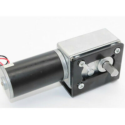 High Torque 24V DC DC Worm Geared Motor With Gear Reducer Turbo Motor 16RPM