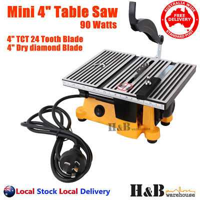 """4""""  Mini Table Bench Saw 220V Miniature Portable For Hobbies Handcraft T0323"""