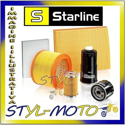 Filtro Olio Oil Filter Starline Sfof0009 Opel Vectra A 2.0 I 16V Cat. C20Xe 1995