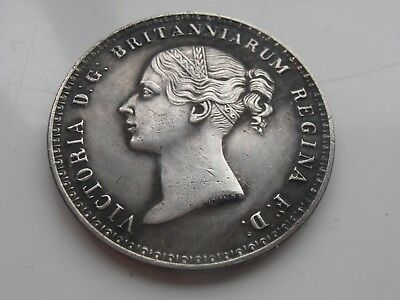 Queen Victoria Una and the Lion Large Silver Plated Collectable Restrike Coin