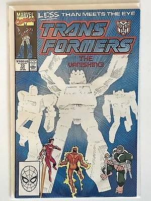Marvel Comics Hasbro Transformers #73 Original 1st Printing Single Issue Book