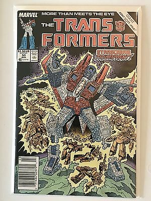 Marvel Comics Hasbro Transformers #50 Original 1st Printing Single Issue Book