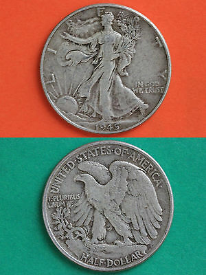 MAKE OFFER $3.00 Face Value 90% Silver Walking Liberty Half Dollars Junk Coins