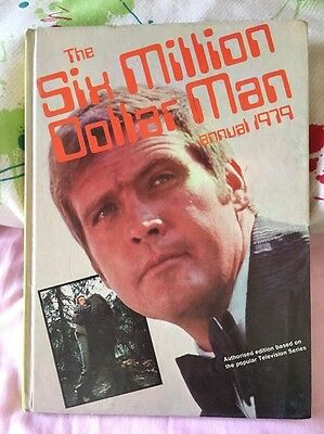 The Six Million Dollar Man Annual 1979 ***Unclipped*** Good Condition