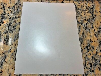 Combo-matte vinyl/3M Scotchcal 8520 laminate-20 pack (8.5in x 11in sheets)