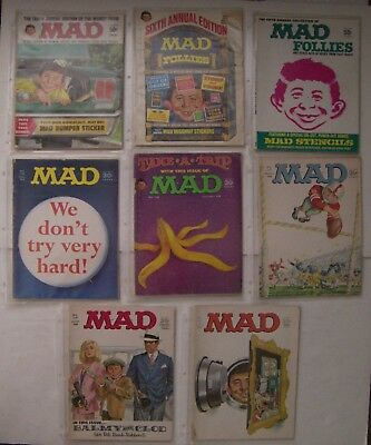 (15) Silver Age Mad Magazines