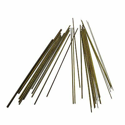 30+Pcs Brass Bushing Wire for Clocks 0.2mm upto 4.0mm Clock Watch Tool