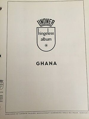 Ghana Stamp Collection on Lindner Hingeless Pages (Years 1957 - 1969)
