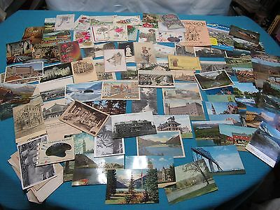 Lot of 90+ VTG Antique Postcards Birthday Cards Stamps Early 1900's Europe USA