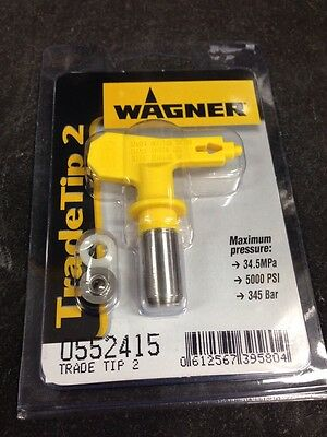 Wagner Airless Spray Tip 415 Trade Tip 2
