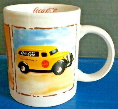Coca-Cola Coffee Mug GIBSON Old Car & General Store Retro Collectible Glory Days