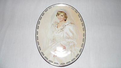 The Peoples Princess Diana Queen of Our Hearts Limited Edition Plate Bradford