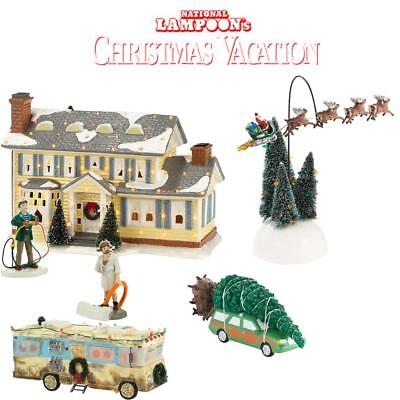 NEW Department 56 National Lampoon's Christmas Vacation 6pc Set House, Tree