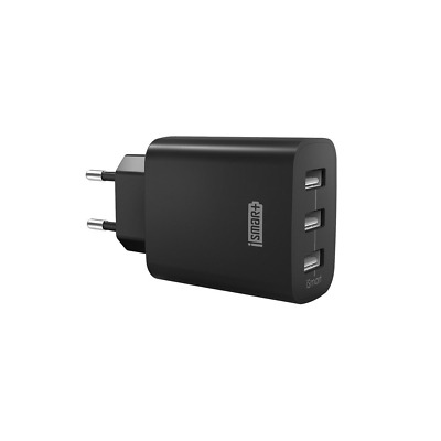 RAVPower - Chargeur USB Secteur 3 Ports Universel 30W/5V/6A Max Noir- NEUF
