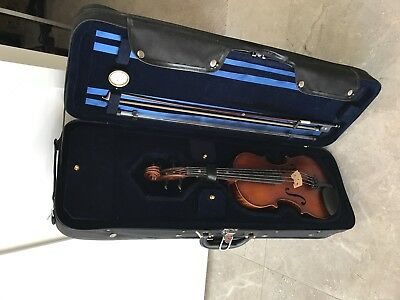 Student Viola 13inch with case, bow and shoulder rest,