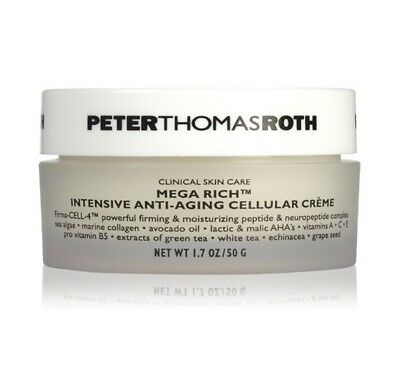 4 Pack - Peter Thomas Roth Mega-Rich Intensive Anti-Aging Cellular Creme 1.7 oz Epionce Pro-Renewal Facial Cream 16oz / 453g w/Spatula