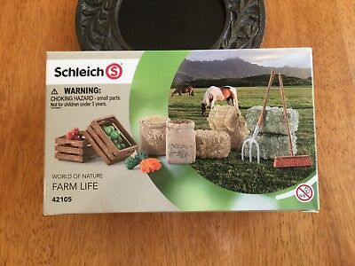 SCHLEICH Farm Life WORLD OF NATURE FEED SET 42105