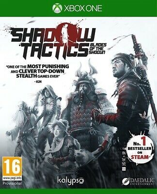 Shadow Tactics Blades of Shogun (Xbox One) NEW Official Authorised UK PAL Import