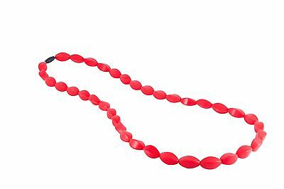 Mumma Bubba Tulip Swirl - Bushfire Red Necklace