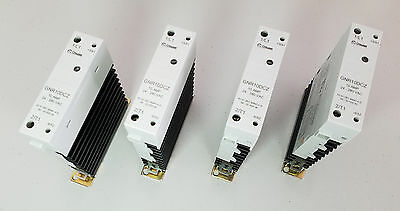 (Lot of 4) Crouzet GNR 10DCZ 'Cooltech' Solid State Relay 10Amp, 24-280VAC
