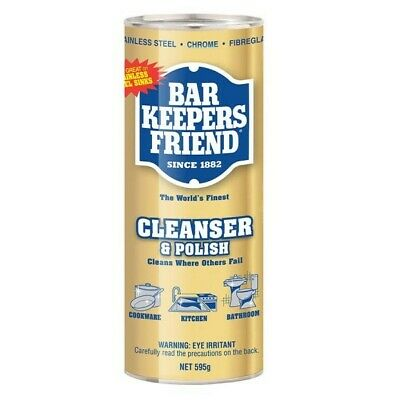 Bar Keepers Friend Soft Cleaner & Polish Powder 595g Industrial Kitchen Cleaning