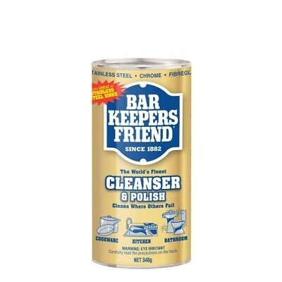 Bar Keepers Friend Soft Cleanser & Polish Powder 340g Home Kitchen Cleaning