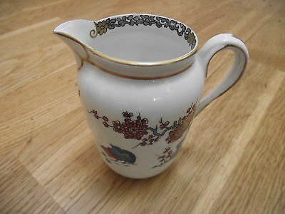 decorated tuscan china cream jug (from bond street )
