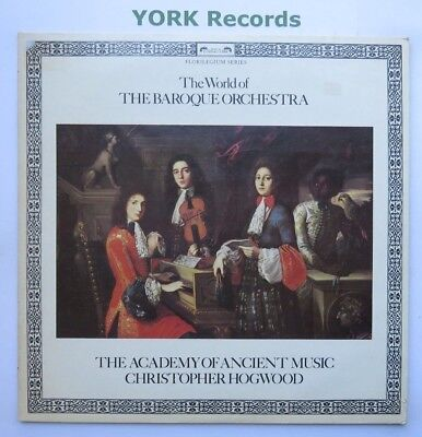 SPA 544 - THE WORLD OF THE BAROQUE ORCHESTRA - Christopher Hogwood -Ex LP Record