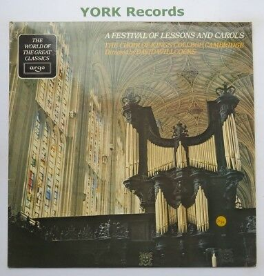 FESTIVAL OF LESSONS & CAROLS - Choir Of King's College, Cambridge - Ex LP Record
