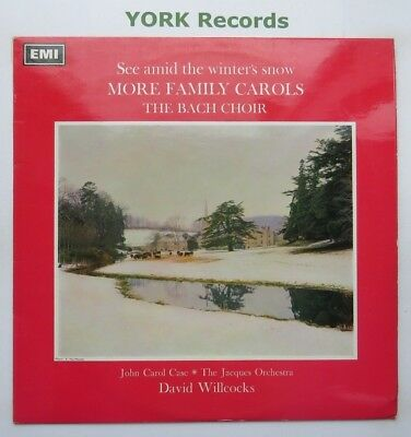 BACH CHOIR - More Family Carols - Excellent Con LP Record Columbia SCX 6179