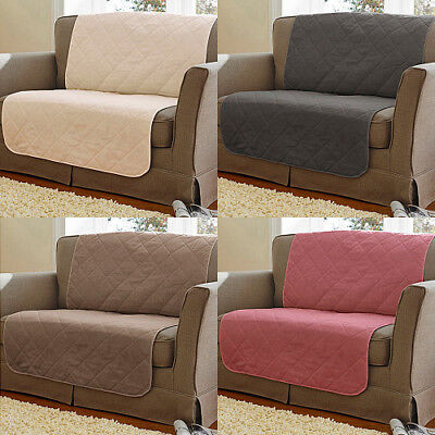 Quilted Sofa Furniture Protectors With 100% Cotton Face FIRE RETARDANT COMPLIANT