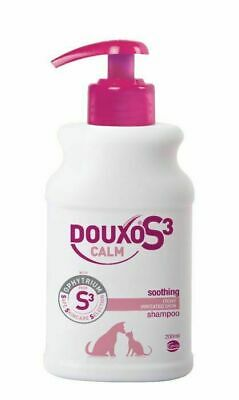 Douxo Calm Shampoo 200ml For Itchy Sensitive Skin In Pet Dogs & Cats