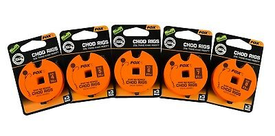 Fox Fishing Tackle - Ready Tied Chod Rigs / Short Chod Rigs