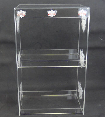 "New Smirnoff Vodka Store Counter Display Shelf 19-1/2"" Tall - Clear Acrylic"